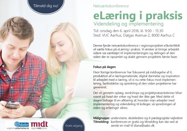Invitation til netværkskonference - videndeling og implementering